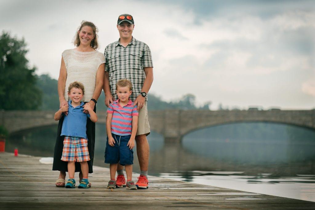 Familienfotograf Lörrach Freiburg Familie Brücke