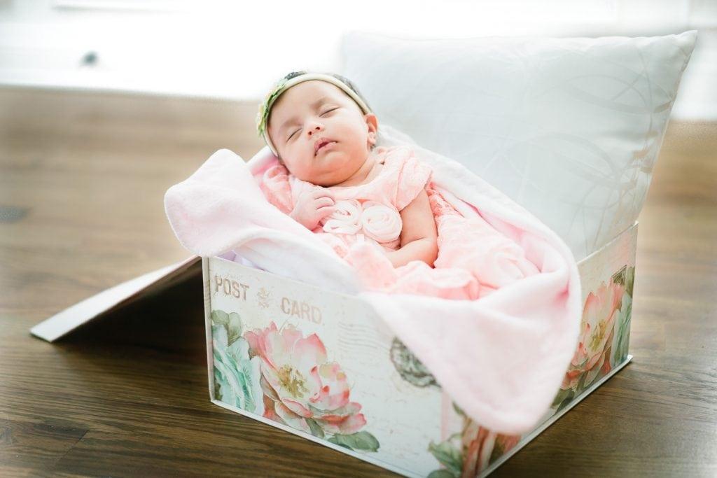 Familienfotograf Lörrach Freiburg Baby Box